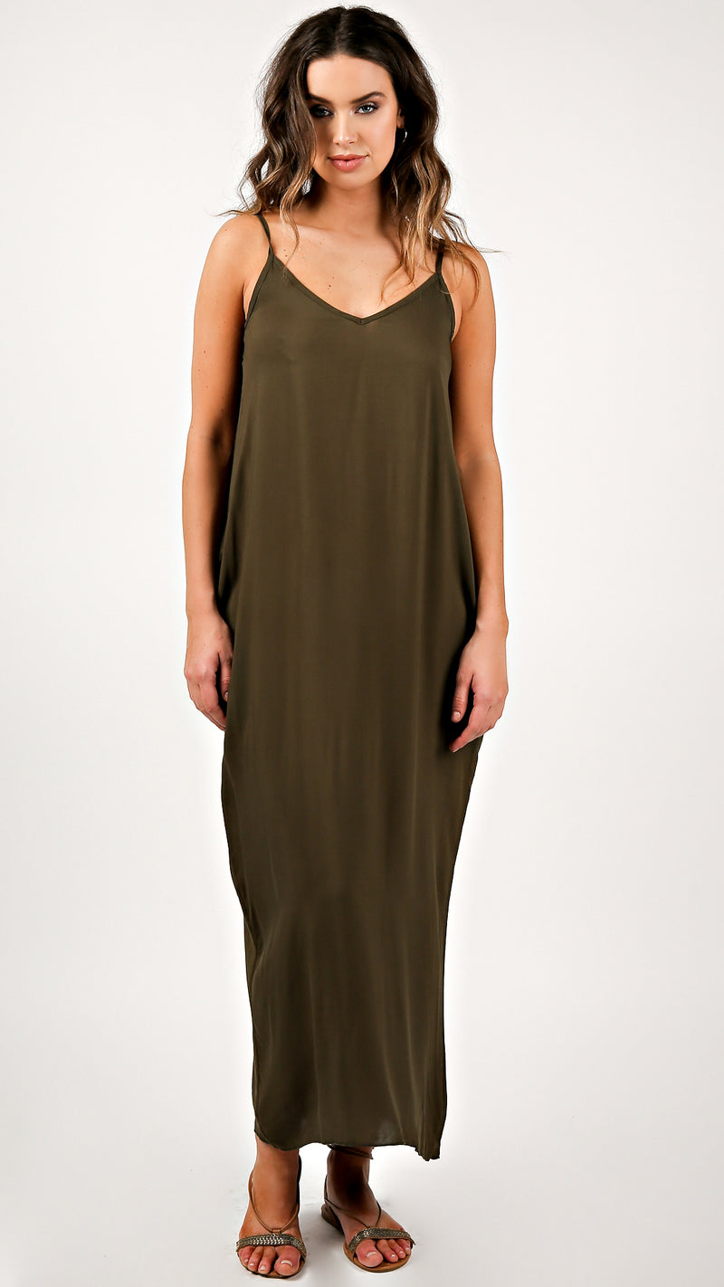 Basic Maxi With Pockets - Msky