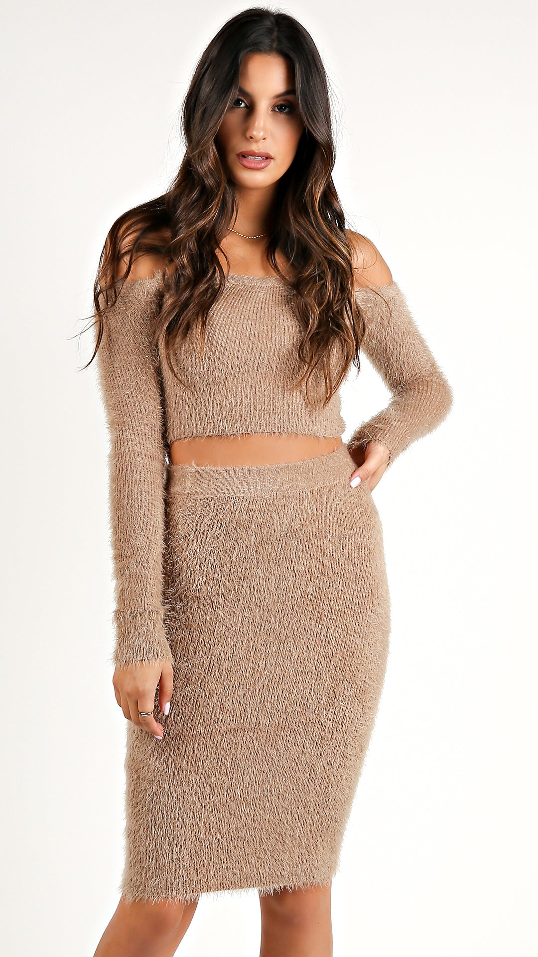 d2031cdf45 Fuzzy Me Not Top And Skirt Set.