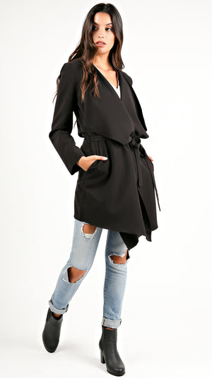 Chic Black Trench Coat... - ANGL