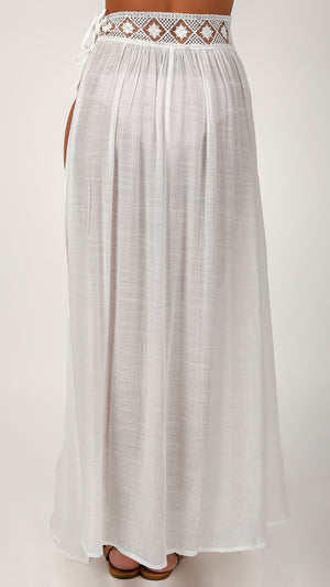 Shore Side Vibes Cover Up Skirt