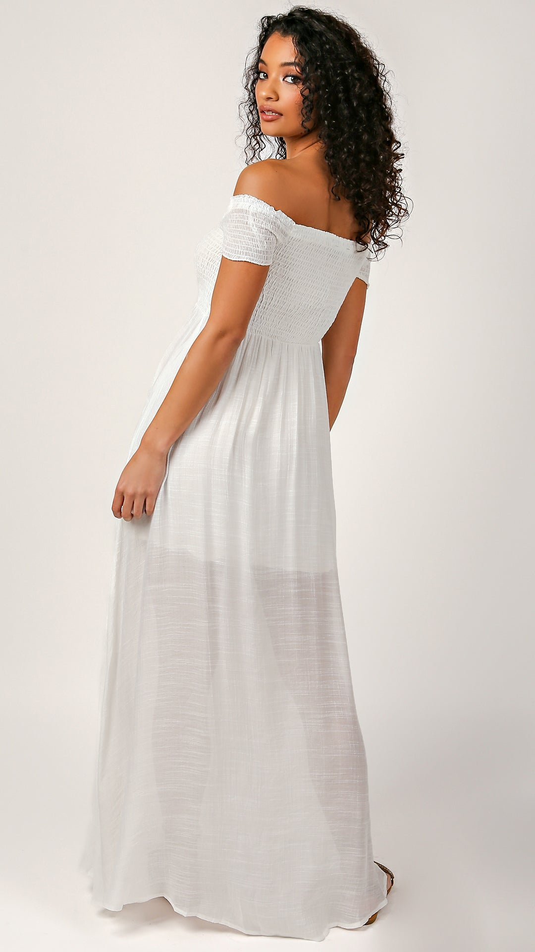 Mia Off Shoulder Maxi Dress