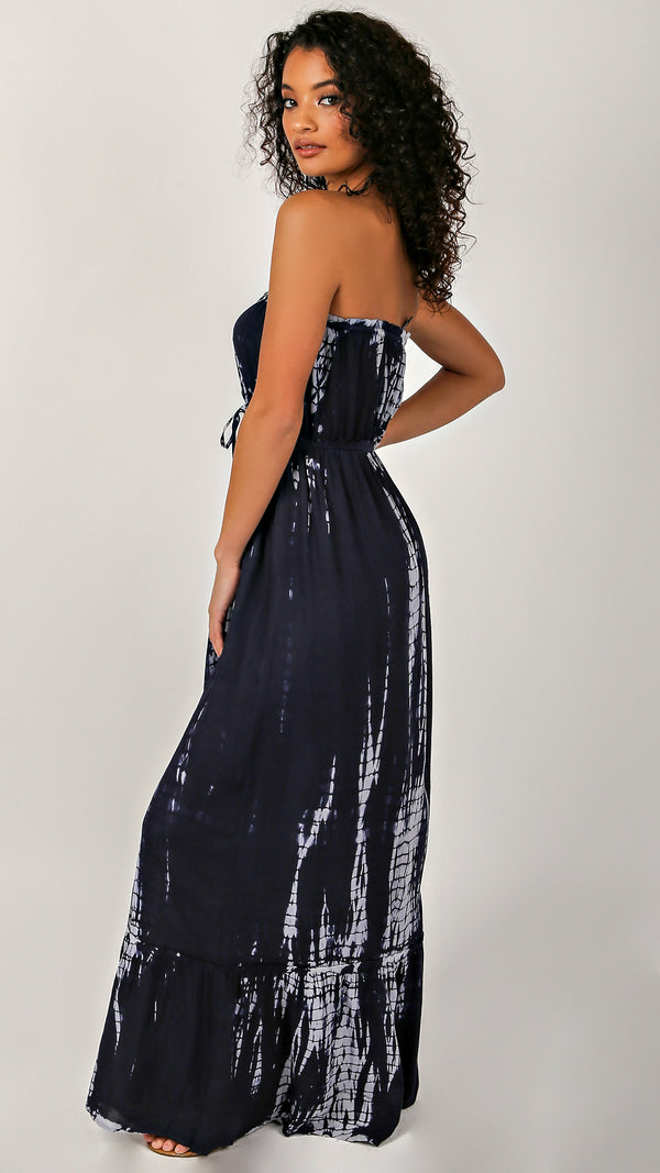 Natalia Tube Tie Dye Maxi Dress