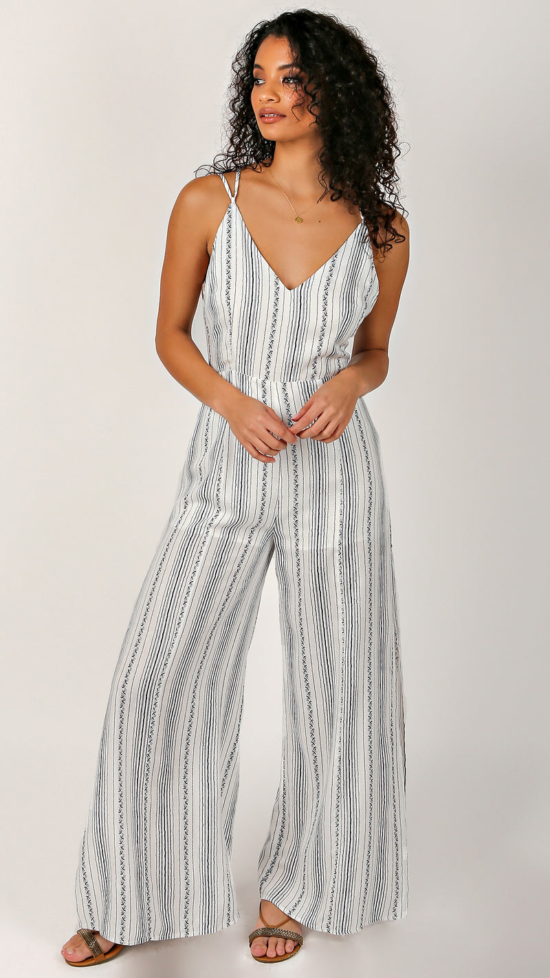Kelly Adjustable Strap Jumpsuit