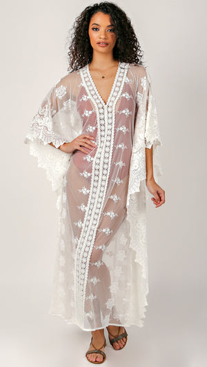 Bianca Lace Cover Up - ANGL