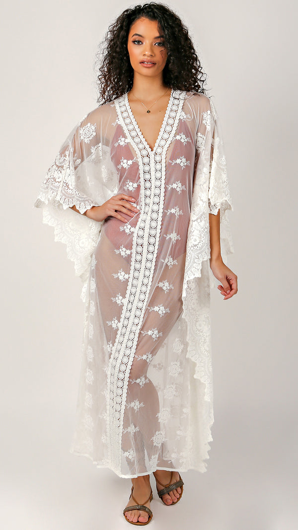 Bianca Lace Cover Up - Msky