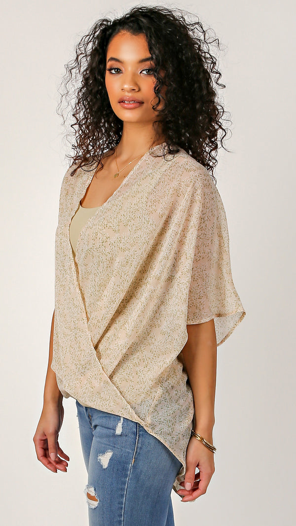 Stuck On Love Surplice Top