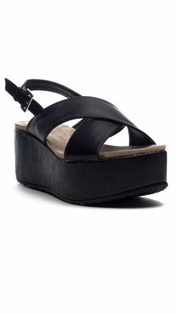 Cross Strap Wedges - Msky