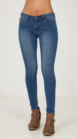 Skinny Denim Pants