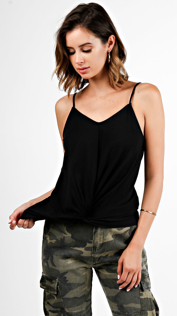 Twist Front Cami Top