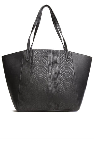 Multi Textured Tote Bag