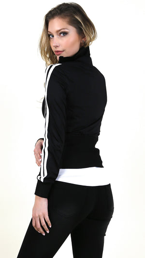 Fitted Zip Up Jacket