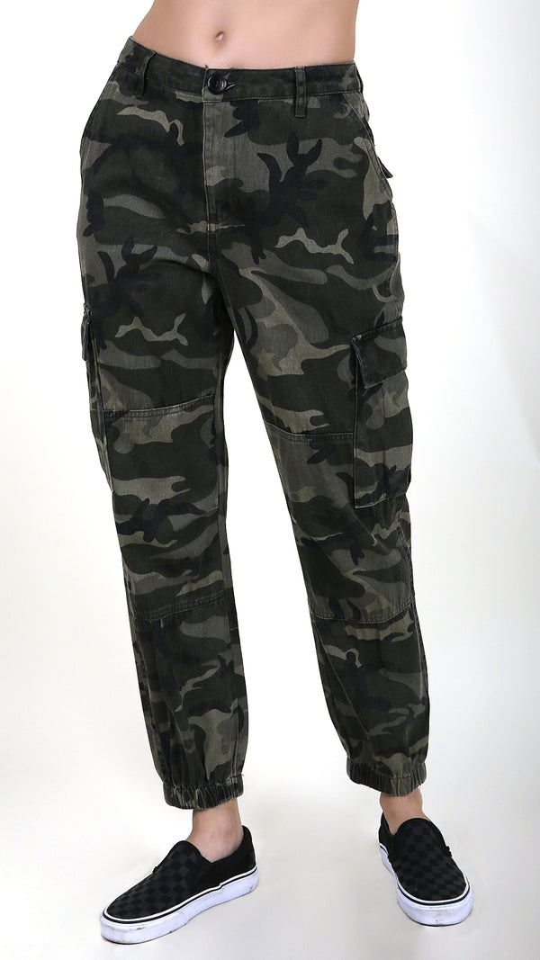 Camo Military Style Pants