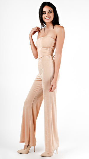 Strut It Tube Strappy Back Jumpsuit