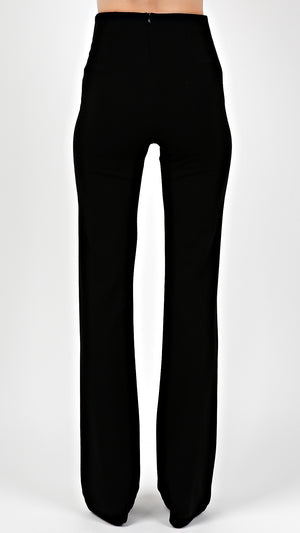 High Waisted Boot Cut Pants