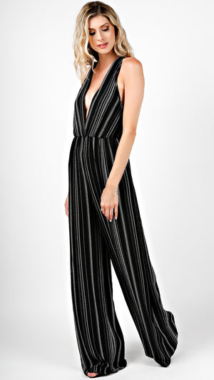 Aztec Stripes X-Back Jumpsuit