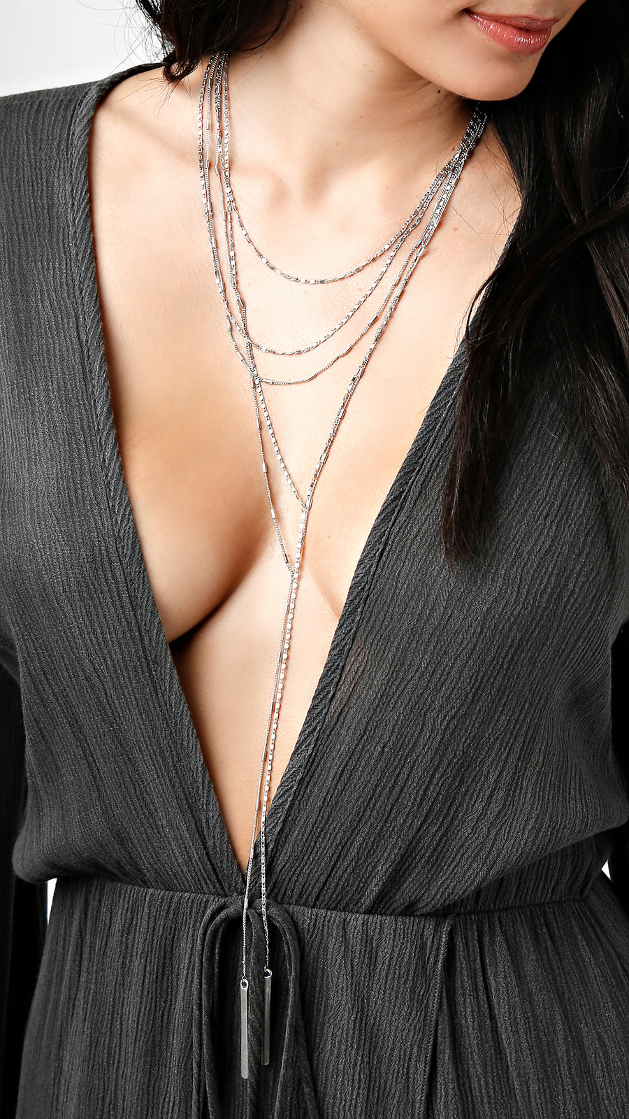 Layered Mini Chain Necklace