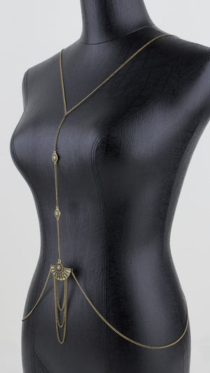 Fan Detail Body Chain - ANGL