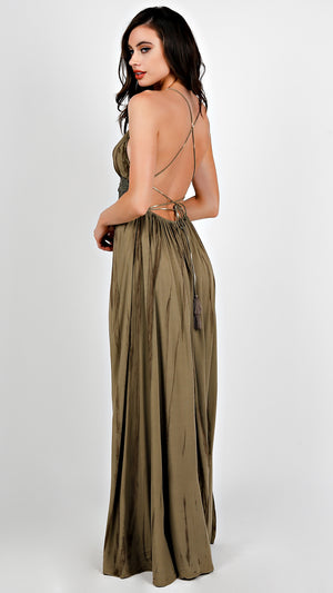 Nature Tie Dye Maxi Dress
