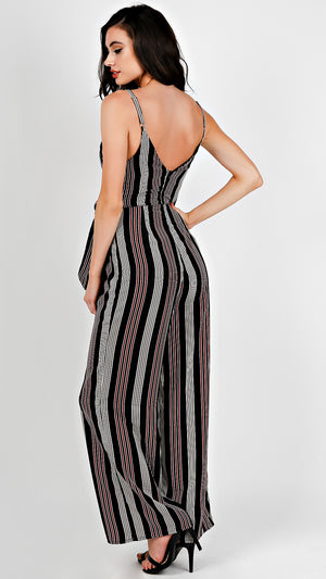Multi Striped Jumpsuit