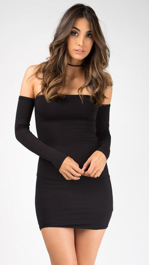 Back-Off Lace Up Party Dress