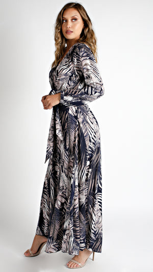 Blue Breeze Maxi Dress