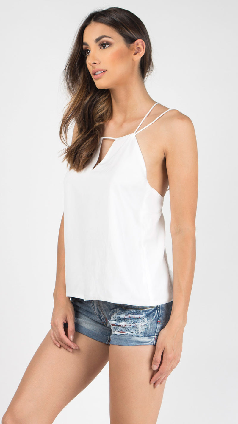 Double Spaghetti Strapped Top - Msky