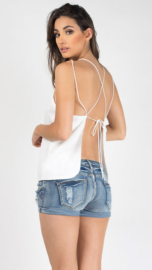 Double Spaghetti Strapped Top - ANGL
