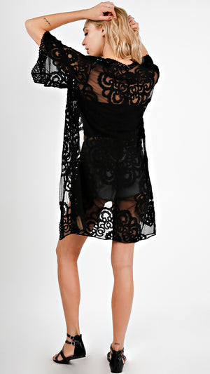 Crochet Lace Cover Up - ANGL