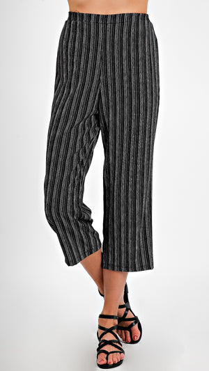 Striped Flowy Pants