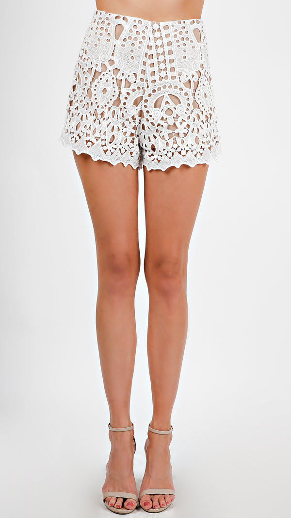 Crochet Lace Shorts - Msky