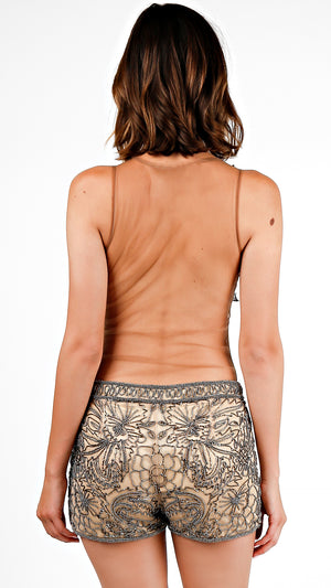 Night Out Beaded Shorts