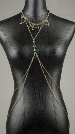 Choker With Body Chain - Msky