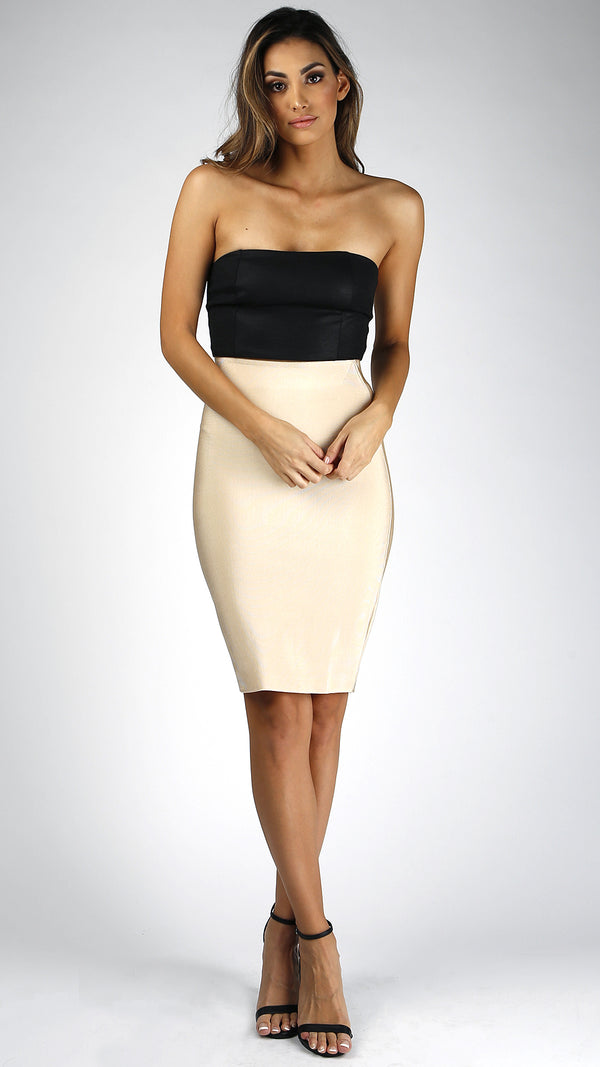 High Waist Bandage Skirt
