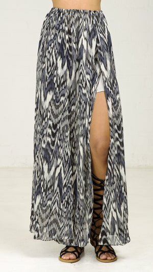 Chevy Tribal Print Maxi Skirt
