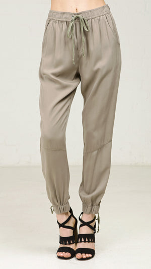 Drawstring Casual Harem Pants