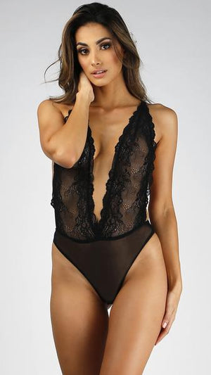 Sexy Secret Lace Bodysuit...