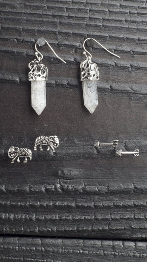 Trio Tribal Earring Set
