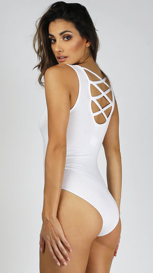 Criss Cross Back Bodysuit