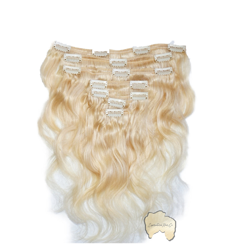 Relaxed Blonde Clip-ins