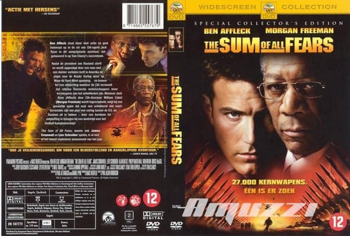Sum of all fears DVD