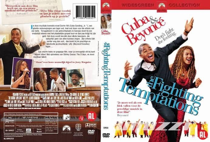Fighting temptations DVD