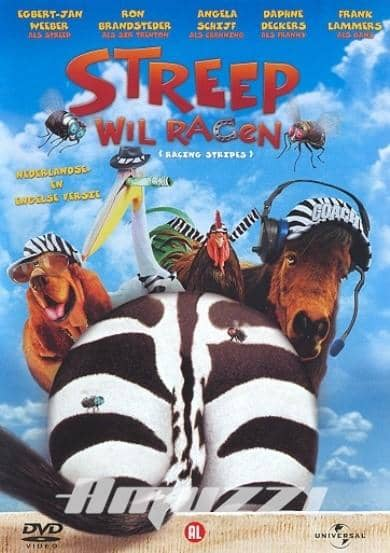 Racing Stripes/ Streep Wil DVD