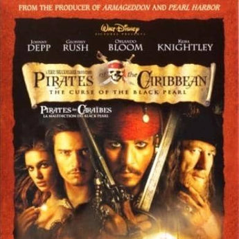Pirates of the Caribbean 1 - The curse of the black pearl (2005)