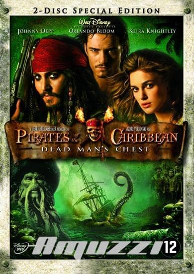 Pirates Of The Caribbean 2 DVD