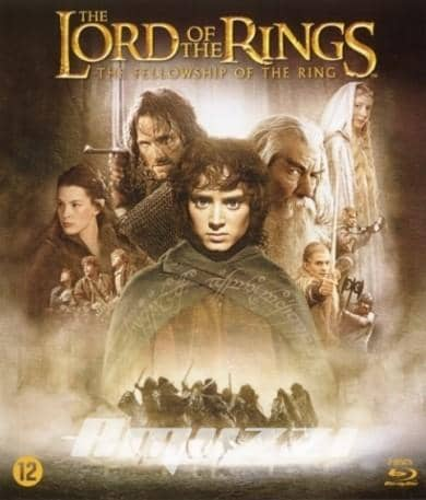Lord of the rings - Fellowship of the ring DVD