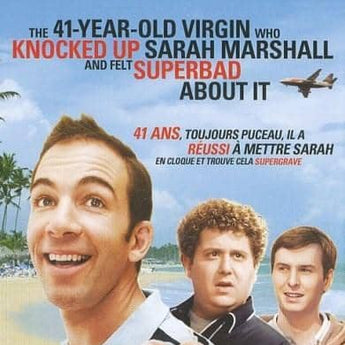 41 year old virgin that knocked up Sarah Marshall and felt superbad about it (2010)
