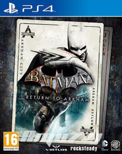 Batman - Return to Arkham - PS4 - amuzzi
