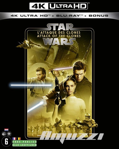 Star wars episode 2 - Attack of the clones (4K = IMPORT) DVD