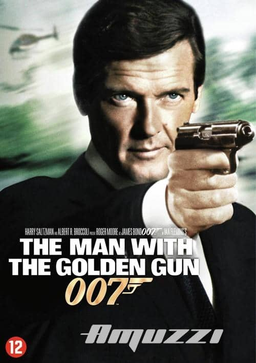 Man with the golden gun DVD