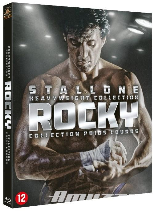 Rocky heavyweight collection DVD